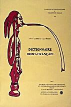 Dictionnaire bobo-français: précédé…