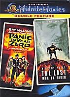 Panic in year zero / The last man on earth…