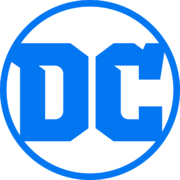 Author photo. DC Comics logo