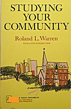 Studying Your Community by Roland Warren