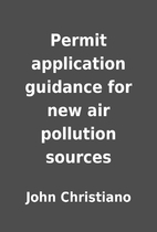 Permit application guidance for new air…