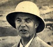 Author photo. Pierre Montet lors des fouilles de Tanis