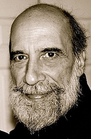 Author photo. Raúl Zurita, photo by Valerie Mejer