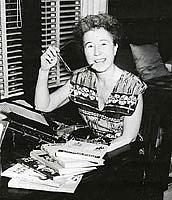 Author photo. Catherine Woolley, Purple House Press author