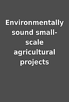 Environmentally sound small-scale…