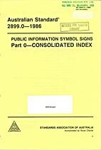AS 2899.0 - 1986: Public Information Symbol…