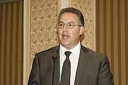 Author photo. Ahmed Aboutaleb. Photo courtesy of Radio Nederland Wereldomroep.