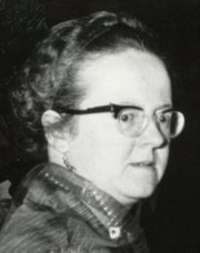 Author photo. Marjorie Boulton, 1962