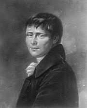 """Author photo. From <a href=""""http://de.wikipedia.org/wiki/Bild:Kleist%2C_Heinrich_von.jpg"""">Wikipedia</a>"""
