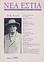 Revue. W. B. Yeeats by Νέα Εστία…