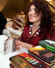 Author photo. Rosita Steenbeek at a book signing in 2010 [credit: Jos van Zetten from Amsterdam, the Netherlands; copied from Wikipedia]