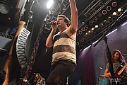"""Author photo. Say Anything performing live at the House of Blues in San Diego, CA on the """"Hebrews Tour"""" July 26, 2014 / Photo by Laura Luz"""