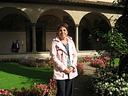 Author photo. Magnolia Scudieri - Director of the Museo di San Marco in Florence, Italy