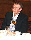 Author photo. Glenn Rahman at World Fantasy Comvention, Minneapolis, 2002