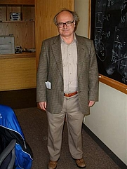 Author photo. Gary W. Gibbons, photo by Lubos Motl (Wikipedia user Lumidek)