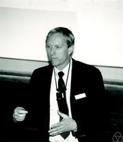 Author photo. Ronald L. Graham. Photo by Konrad Jacobs.
