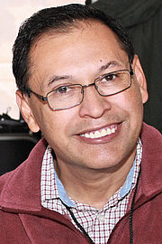 """Author photo. Author René Colato Laínez at the 2016 Texas Book Festival. By Larry D. Moore, CC BY-SA 4.0, <a href=""""https://commons.wikimedia.org/w/index.php?curid=52967114"""" rel=""""nofollow"""" target=""""_top"""">https://commons.wikimedia.org/w/index.php?curid=52967114</a>"""