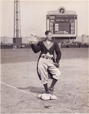 Author photo. Al Schacht [credit: Old Time Family Baseball]