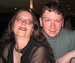"Author photo. Donna Barr with Ron Hogan <br>at San Diego Comic Con 2006<br>Copyright © 2006 <a href=""http://ronhogan.tumblr.com"">Ron Hogan</a>"