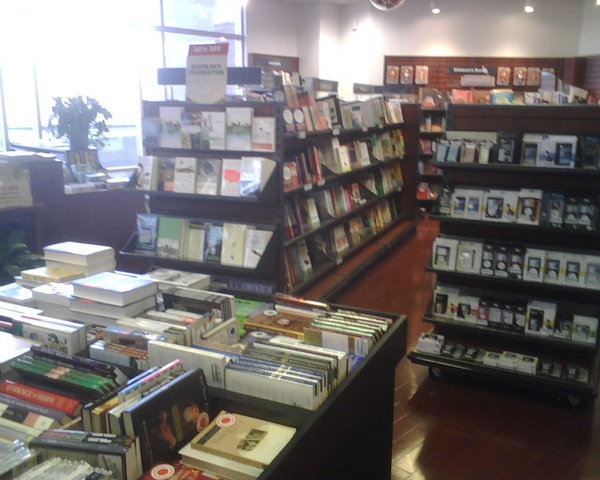 This is an image of the inside bookstore located in Xavier university.