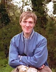Author photo. Peter Gilliver, c. 1986.  Photo by Ashley Van Haeften.