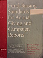 Fund Raising Standards for Annual Giving and…