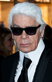 Author photo. Description English: Karl Lagerfeld at a Fendi store opening Date3 May 2014, 08:26:31Sourcehttp://www.flickr.com/photos/adach/14071166986/AuthorChristopher William Adach