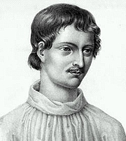 "Author photo. From <a href=""http://commons.wikimedia.org/wiki/Image:Giordano_Bruno.jpg"">Wikimedia Commons</a>"