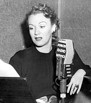 Author photo. Armed Forces Radio Service in the 1940s