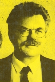 Author photo. Gerrit Krol (book cover 1994)