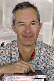 Author photo. Author Geoff Dyer at the 2015 Texas Book Festival. By Larry D. Moore, CC BY-SA 4.0, <a href=&quot;https://commons.wikimedia.org/w/index.php?curid=44646842&quot; rel=&quot;nofollow&quot; target=&quot;_top&quot;>https://commons.wikimedia.org/w/index.php?curid=44646842</a>