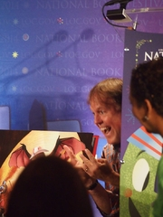 """Author photo. Reading at National Book Festival By Slowking4 - Own work, GFDL 1.2, <a href=""""https://commons.wikimedia.org/w/index.php?curid=35041236"""" rel=""""nofollow"""" target=""""_top"""">https://commons.wikimedia.org/w/index.php?curid=35041236</a>"""