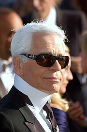 Author photo. Karl Lagerfeld