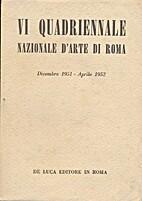 VI Quadriennale Nazionale d'Arte di Roma