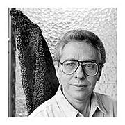 Author photo. José balza. escritor venezolano.