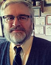 Author photo. Dr Edward Peters