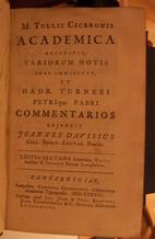 Academica by Marcus Tullius Cicero