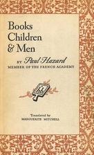 Books, Children & Men by Paul Hazard