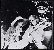 Author photo. Ethel Smyth (right) and Virginia Woolf.  Courtesy of the <a href=&quot;http://digitalgallery.nypl.org/nypldigital/dgkeysearchdetail.cfm?strucID=302186&imageID=484383&quot;> NYPL Digital Gallery </a> (image use requires permission from the New York Public Library)