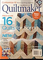 Quiltmaker Match/April '17 No. 174 by Paula…