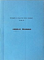 Ambulas Grammar by P.R. Wilson