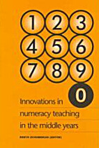 Innovations in numeracy teaching in the…