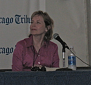 Author photo. Photo by Lilithcat, taken at Printers Row Book Fair, 7 June 2008.