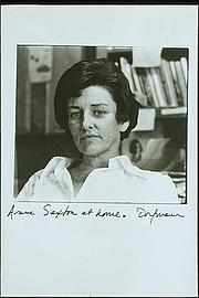 Author photo. Portrait of Anne Sexton by Elsa Dorfman