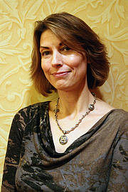 Author photo. Jennifer Ouellette at the Amaz!ng Meeting 2012 by Wikipedia user Sgerbic