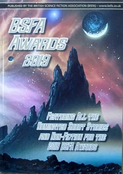 BSFA Awards 2019 cover