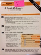 Real Essays: A Quick Reference by Susan…