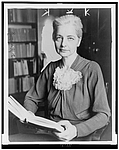 Author photo. Ruth Benedict (1887-1948) 1937 staff photo (New York World-Telegram and the Sun Photograph Collection, Library of Congress Prints and Photographs Division, Reproduction number: LC-USZ62-114649)