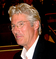 Author photo. Richard Gere in Venice, 2007 [source: Richard Gere]