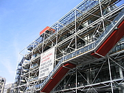 Author photo. The Pompidou Centre in Paris, France [credit: Wikimedia Commons user Leland]